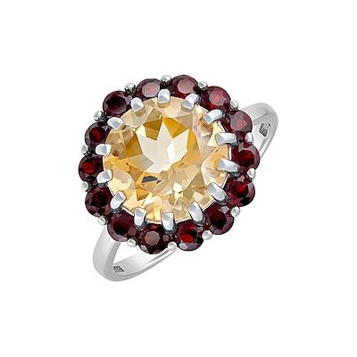 Серебряное кольцо  129840
