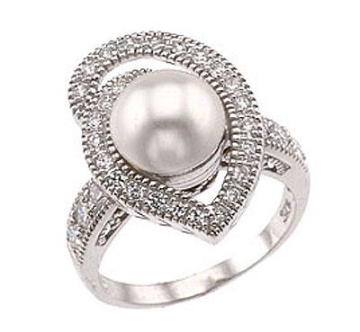 Серебряное кольцо  34101