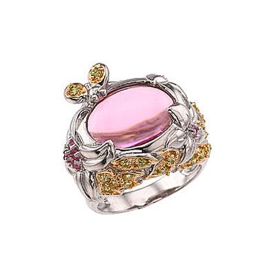Серебряное кольцо  34106
