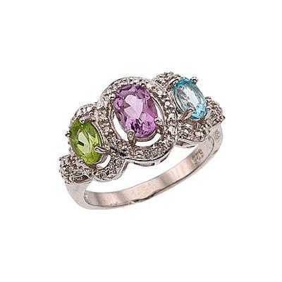 Серебряное кольцо  34113