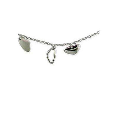 Серебряное колье  35053