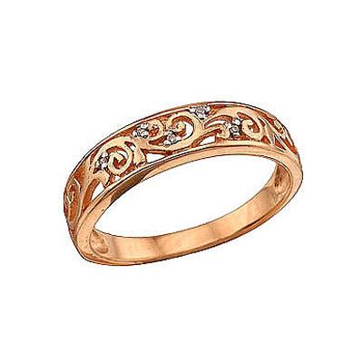 Каталог эксклюзивных золотых колец с бриллиантами