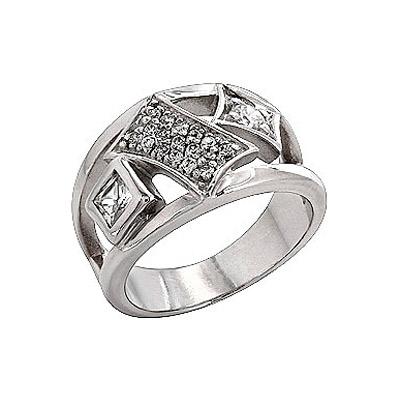 Серебряное кольцо  35549