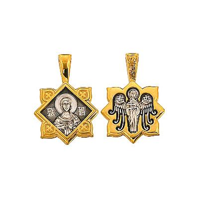 Серебрянная икона  39172