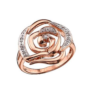 Золотое кольцо  Ювелирное изделие 40071