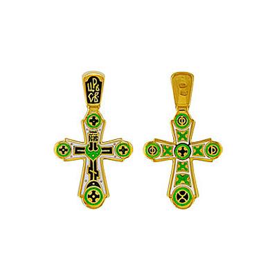 Серебряный крест 6434
