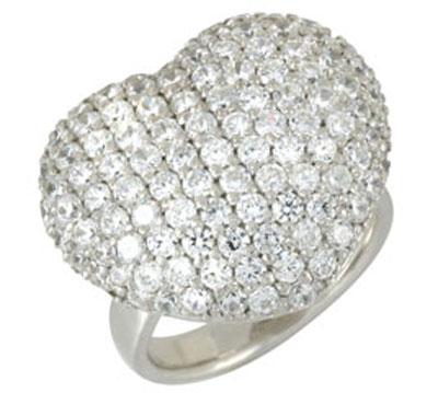Серебряное кольцо  66878