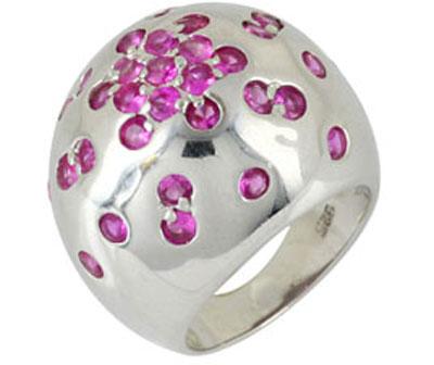 Серебряное кольцо  66886