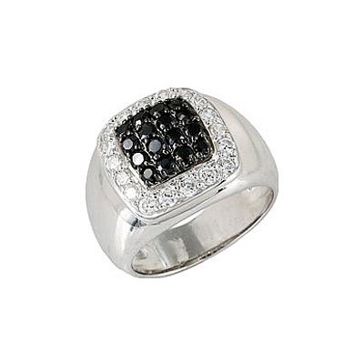 Серебряное кольцо  68278