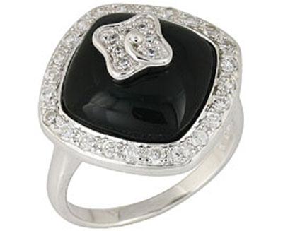 Серебряное кольцо  68296