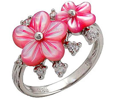 Серебряное кольцо  68299
