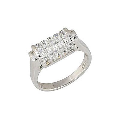 Серебряное кольцо  Ювелирное изделие 68302