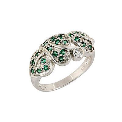 Серебряное кольцо  68330