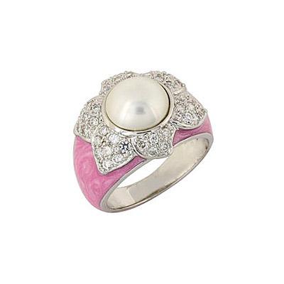 Серебряное кольцо  68407
