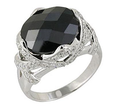 Серебряное кольцо  68493