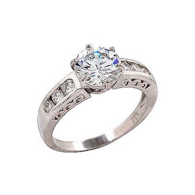 Серебряное кольцо  68597