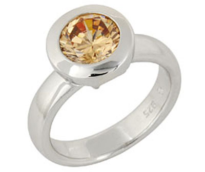 Серебряное кольцо  68613