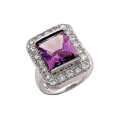Серебряное кольцо  70736