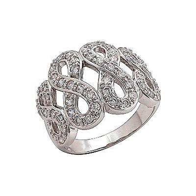 Серебряное кольцо  70835