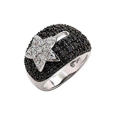 Серебряное кольцо  Ювелирное изделие 70836