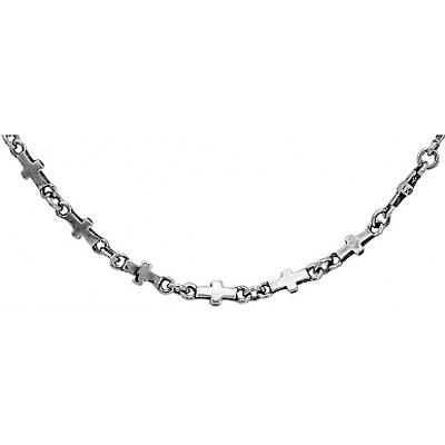 Серебряное колье  71002