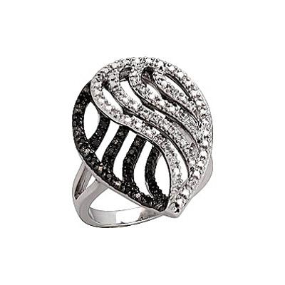 Серебряное кольцо  75032
