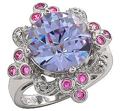 Серебряное кольцо  75054
