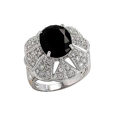 Серебряное кольцо  75066