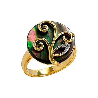 Серебряное кольцо  75129