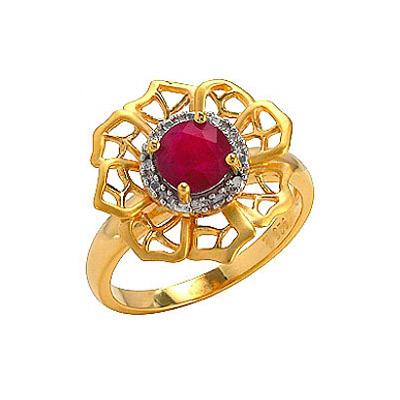 Серебряное кольцо  75132