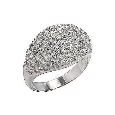 Серебряное кольцо  75135