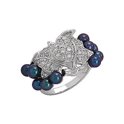 Серебряное кольцо  Ювелирное изделие 75141
