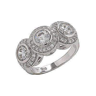 Серебряное кольцо  75149