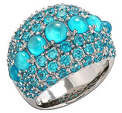 Серебряное кольцо  Ювелирное изделие 75156
