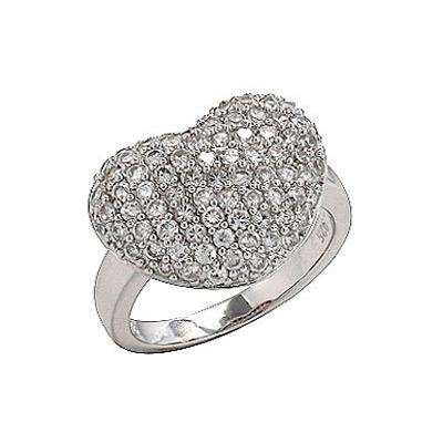 Серебряное кольцо  75170