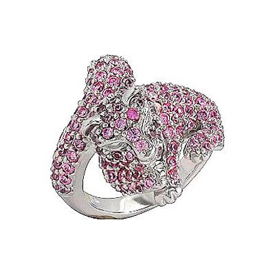 Серебряное кольцо  75174