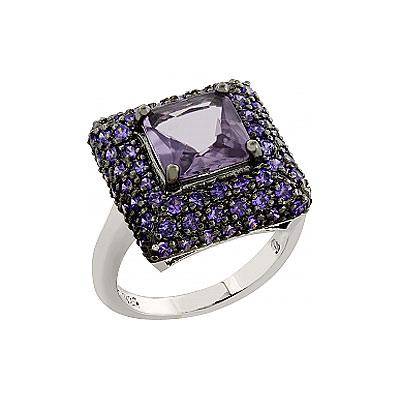 Серебряное кольцо  75747