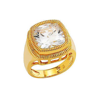 Серебряное кольцо  80535