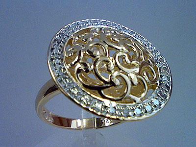 Серебряное кольцо  80539