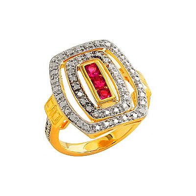 Серебряное кольцо  80546