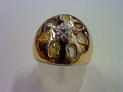 Серебряное кольцо  80549