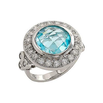 Серебряное кольцо  80553