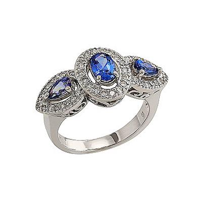Серебряное кольцо  80573
