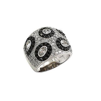 Серебряное кольцо  Ювелирное изделие 80580
