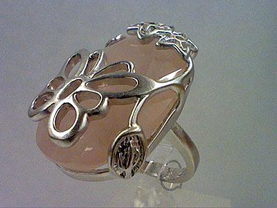 Серебряное кольцо  80593