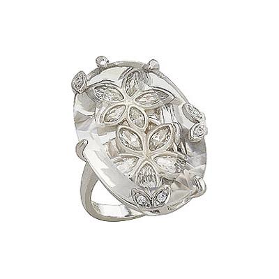 Серебряное кольцо  80596