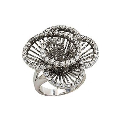 Серебряное кольцо  80868