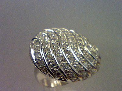 Серебряное кольцо  80871