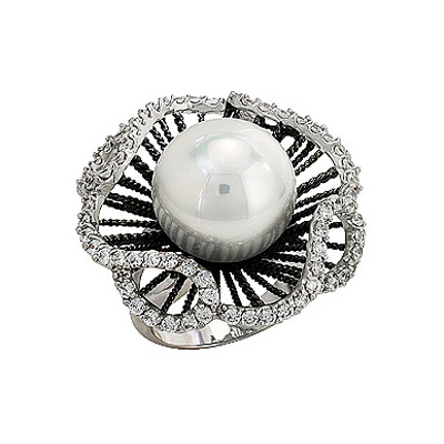 Серебряное кольцо  80896