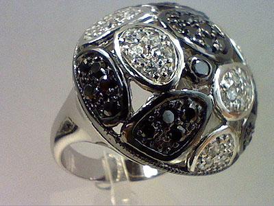 Серебряное кольцо  80899